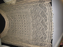 shetland shawl at lacis